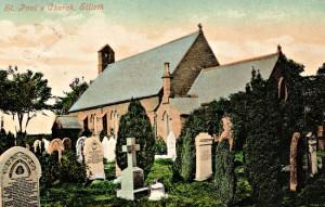 St Pauls postcard