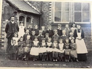 group photo of Colt Park Board School