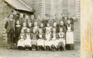 group photo at Colt Park Board school