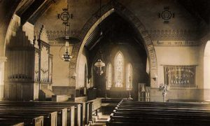 photo of inside st Paul's church