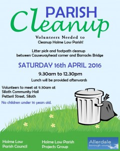 cleanup poster