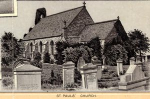 old photo of St Paul's church